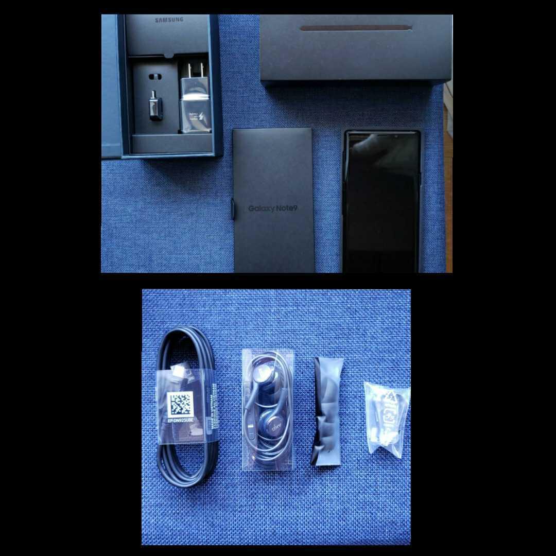 [美品]Samsung Galaxy note9 Dual-SIM SM-N9600