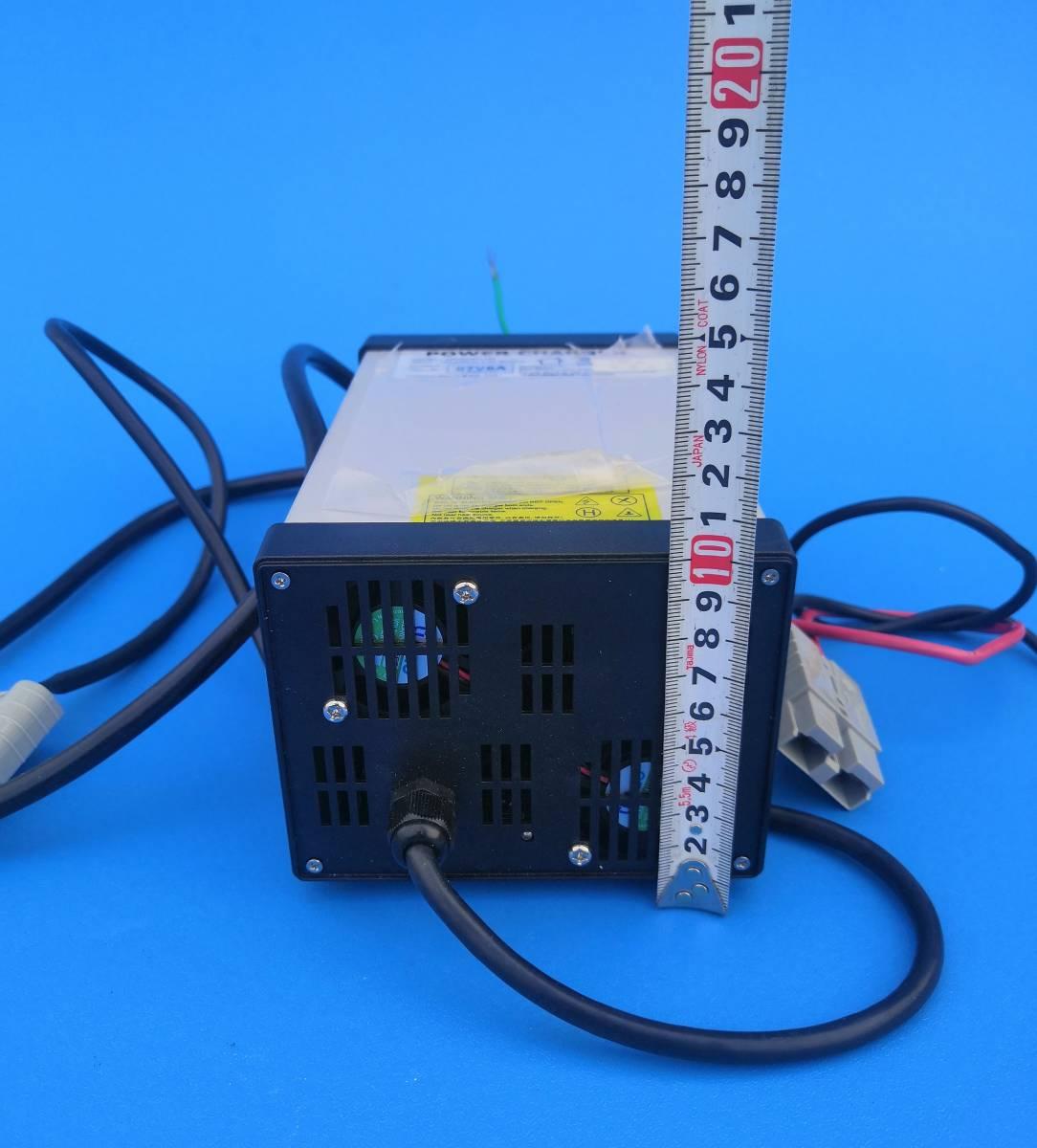 鉛バッテリー6本直列充電器コムスのバッテリー充電に充電器故障したコムスへの充電に使えます_画像5