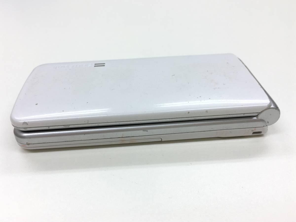 送料無料 中古softbank 002P for Biz ホワイト ジャンク_画像3