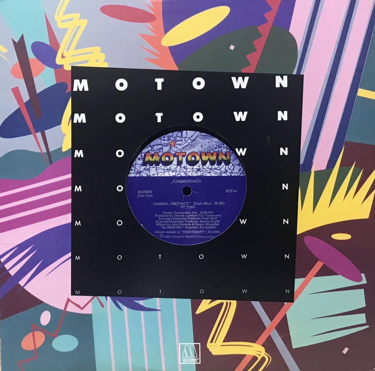 COMMODORES / ANIMAL INSTINCT 12inchレコード その他にもプロモーション盤 レア盤 人気レコード 多数出品中_画像1
