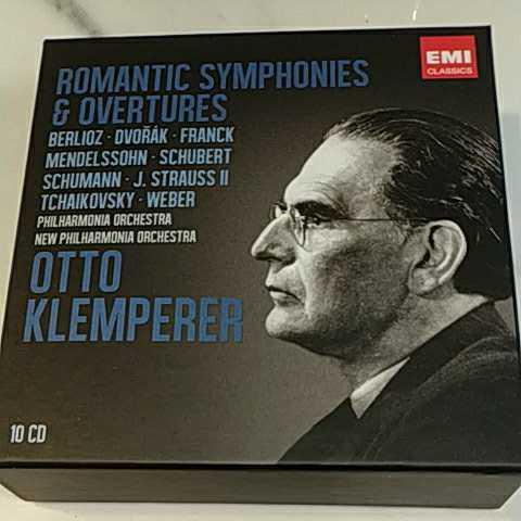 オットー・クレンペラー ★ロマン派 CD10枚組ボックス Otto Klemperer: Romantic Symphonies & Overtures _画像1