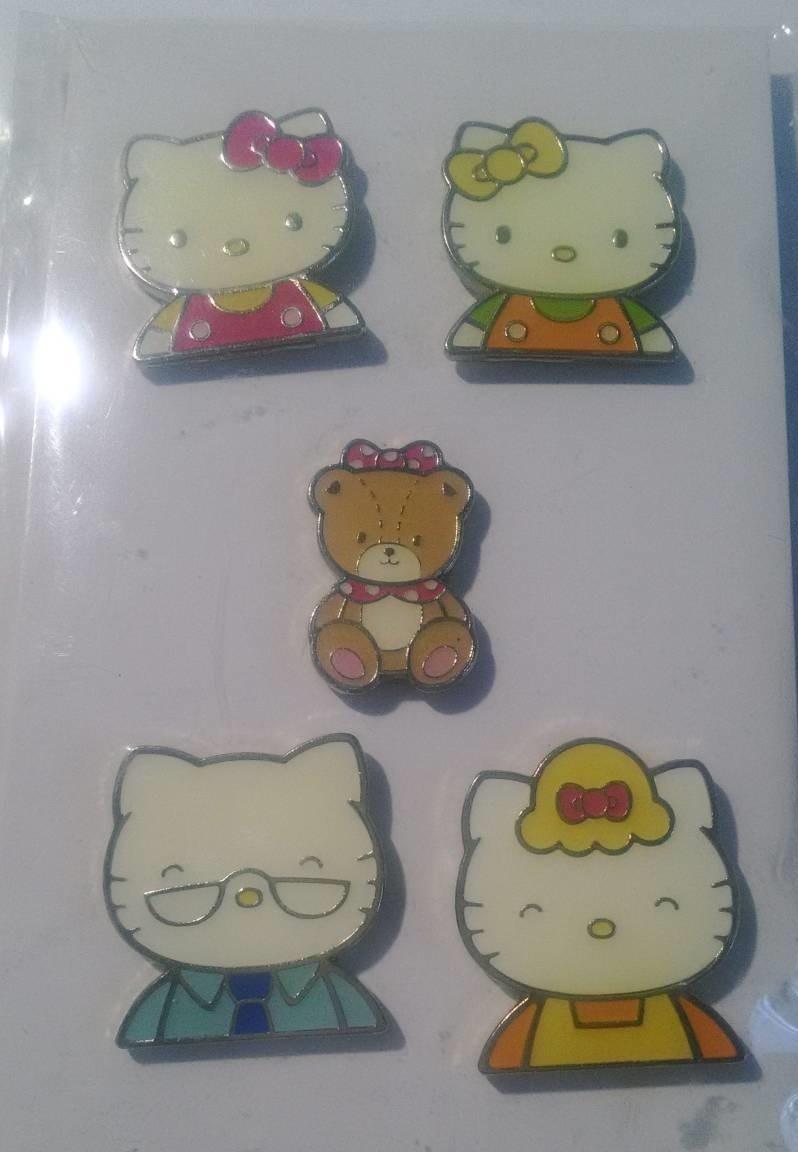 「ハローキティ ピンバッジセット」  Hello Kitty/Pin badge