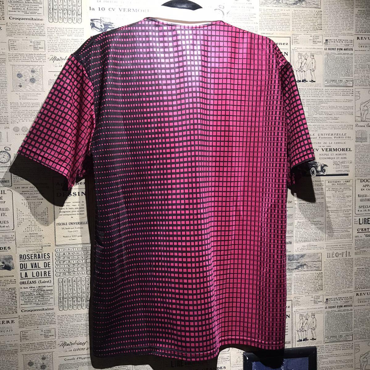 adidas アディダス グラデーション半袖ポロシャツ サイズM