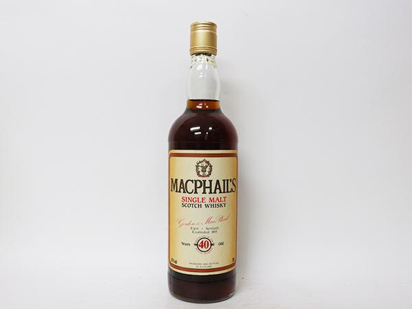 古酒★マクファイルズ 40年 シングル モルト スコッチ ウイスキー *箱付 MacPhail's アルコール度数:40% 内容量:700ml_画像2
