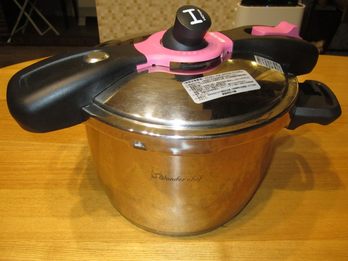 圧力鍋 5.5L 魔法のクイック料理