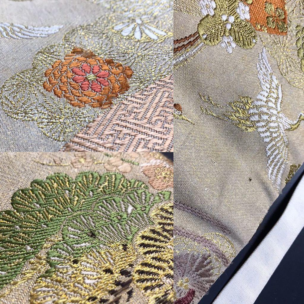 限定4本 日本刀 太刀 刀 刀袋 豪華 飛鶴華紋 御所車紋 職人ハンドメイド 100%正絹使用 一点物 E-13_画像10