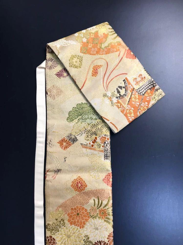 限定4本 日本刀 太刀 刀 刀袋 豪華 飛鶴華紋 御所車紋 職人ハンドメイド 100%正絹使用 一点物 E-12_画像6
