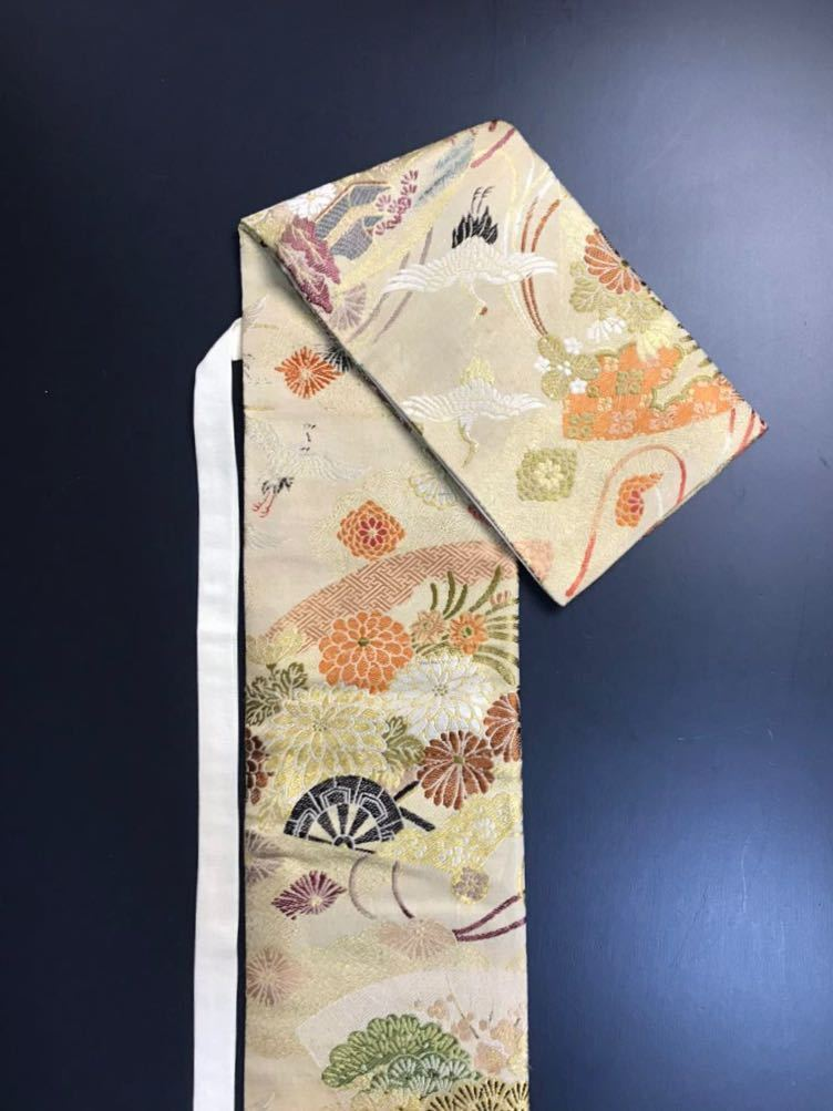 限定4本 日本刀 太刀 刀 刀袋 豪華 飛鶴華紋 御所車紋 職人ハンドメイド 100%正絹使用 一点物 E-14_画像7