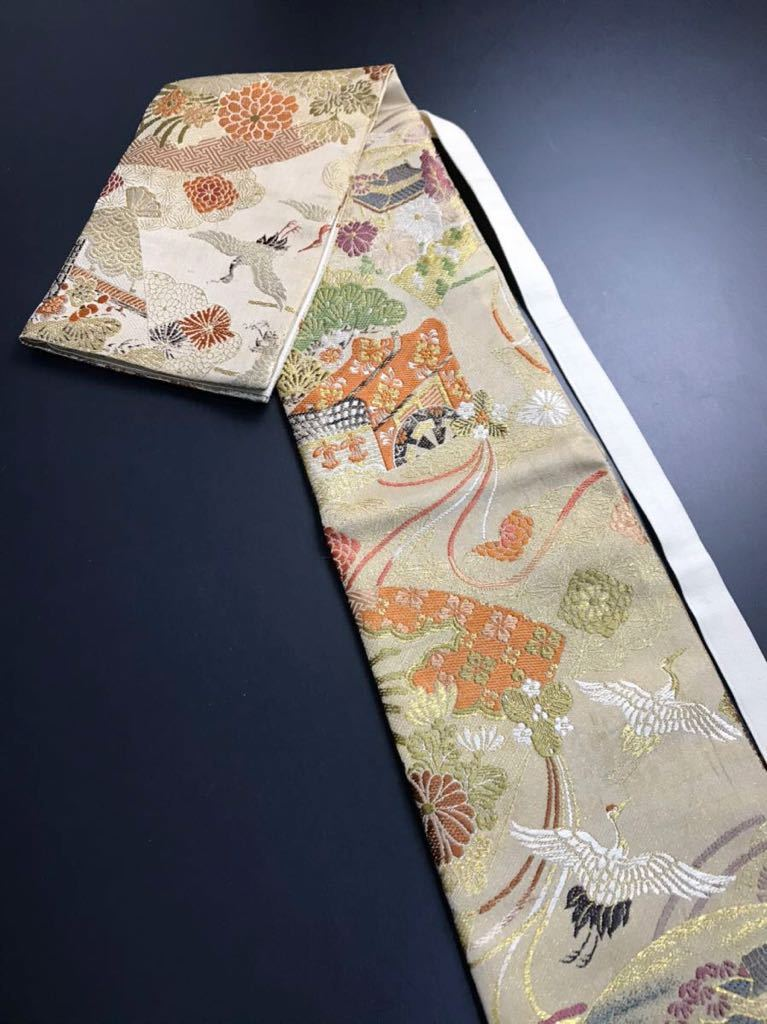 限定4本 日本刀 太刀 刀 刀袋 豪華 飛鶴華紋 御所車紋 職人ハンドメイド 100%正絹使用 一点物 E-12_画像1