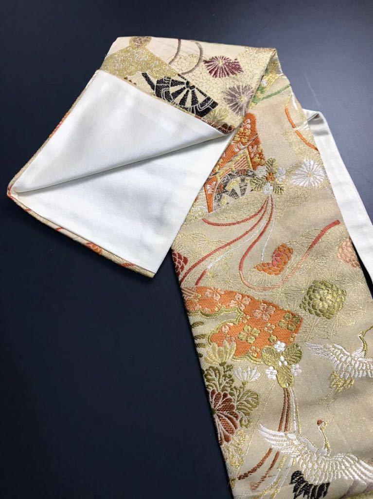 限定4本 日本刀 太刀 刀 刀袋 豪華 飛鶴華紋 御所車紋 職人ハンドメイド 100%正絹使用 一点物 E-13_画像5