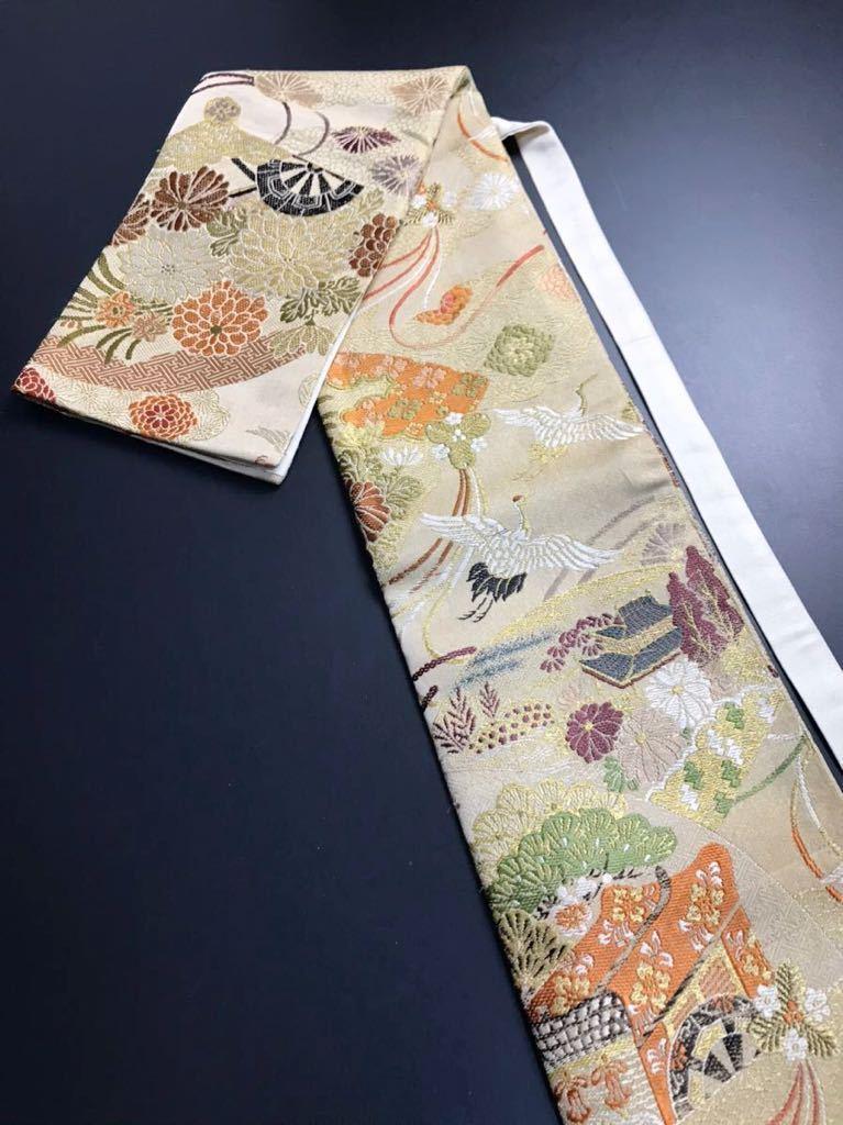限定4本 日本刀 太刀 刀 刀袋 豪華 飛鶴華紋 御所車紋 職人ハンドメイド 100%正絹使用 一点物 E-14_画像1