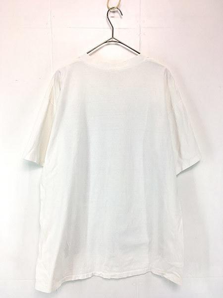 古着 90s USA製 LOONEY TUNES TWEETY トゥイーティー キャラクター ナンバリング ストライプ コットン Tシャツ XL位 古着_画像2