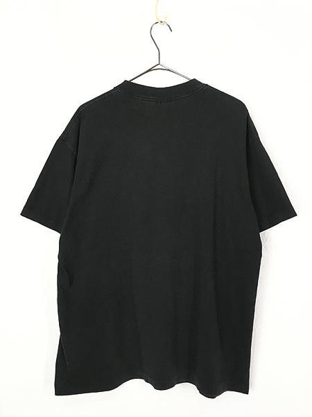 古着 90s USA製 LOONEY TUNES TWEETY トゥイーティー キャラクター ドット プリント 100%コットン Tシャツ XL 古着_画像2