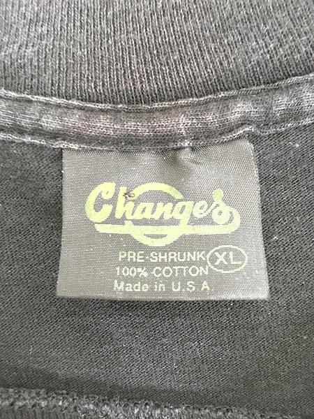 古着 90s USA製 LOONEY TUNES TWEETY トゥイーティー キャラクター ドット プリント 100%コットン Tシャツ XL 古着_画像5