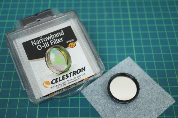 CELESTRON セレストロン 31.7mm用 OⅢフィルター □2502160