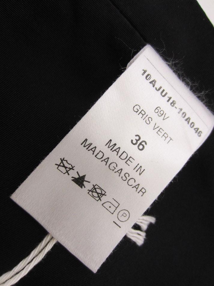 送料無料 Chloe クロエ スカート ミニスカート レディース ボトムス JUPE GRIS VERT 36 タグ付き 10AJU18-10A045 超美品_画像8