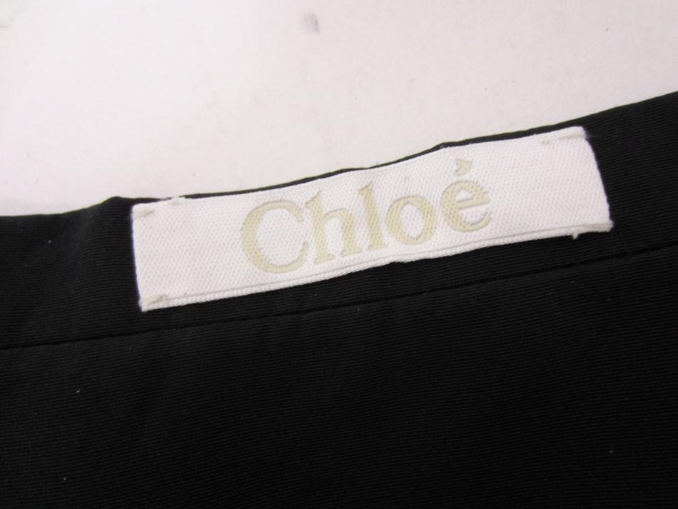 送料無料 Chloe クロエ スカート ミニスカート レディース ボトムス JUPE GRIS VERT 36 タグ付き 10AJU18-10A045 超美品_画像7
