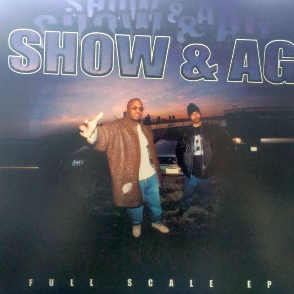 12inchレコード  SHOW & A.G. / FULL SCALE EP_画像1