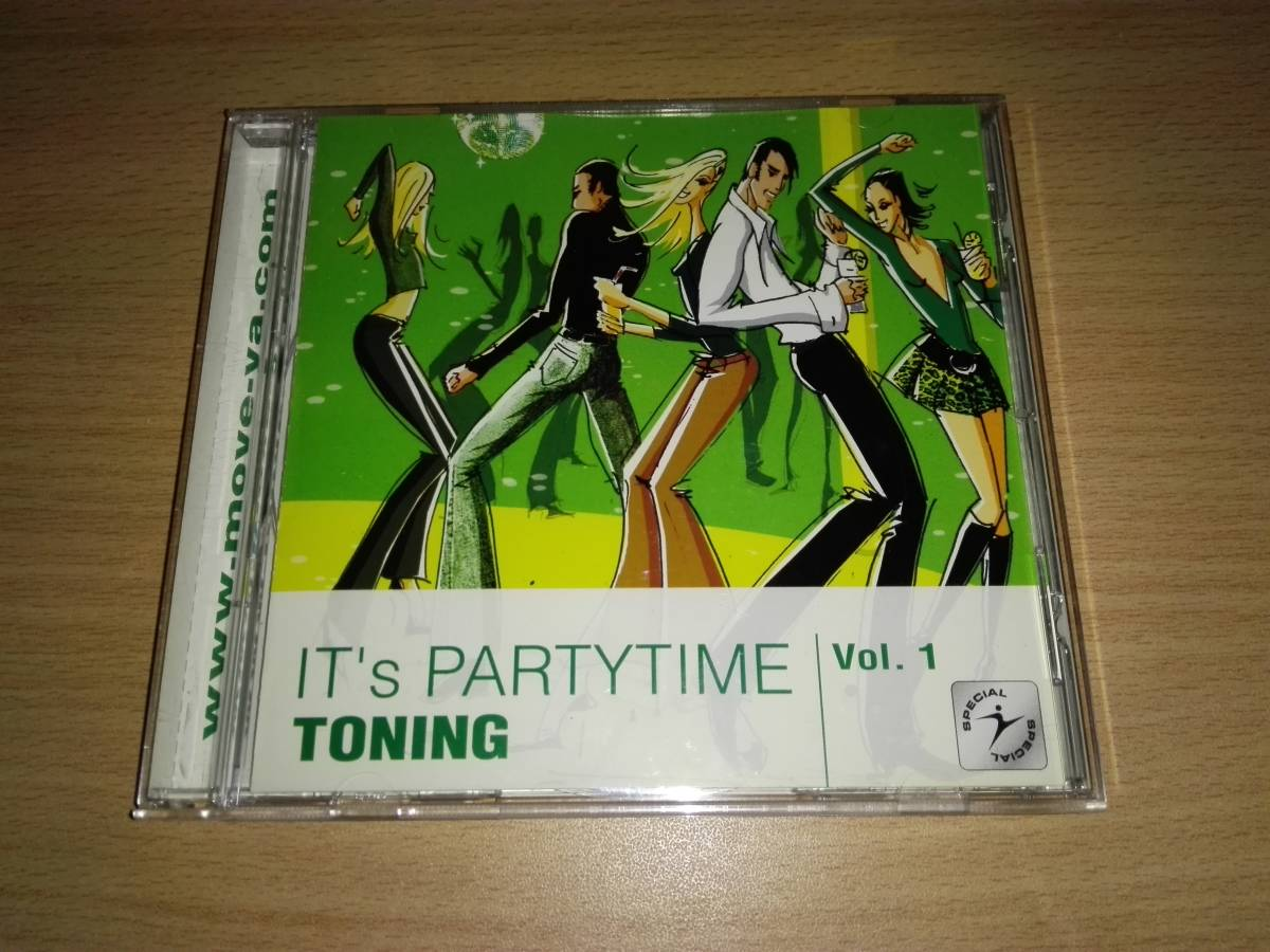 CD「IT's PARTYTIME TONING」VOL.1