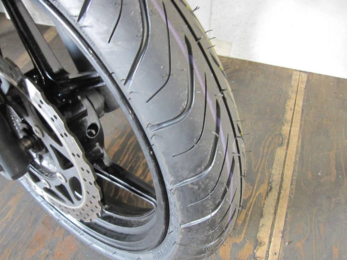 「KAWASAKI NINJA250R EX250K 黒 ノーマル F新品タイヤ 29130km」の画像3