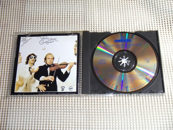初期 廃盤 2in1 Van Der Graaf ヴァン ダー グラフ The Quiet Zone + Pleasure Dome / Peter Hammill Nic Potter Graham Smith VJD 28087