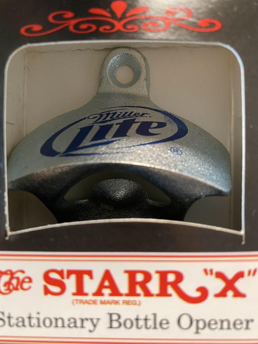 ミラービール ミラーライト バドワイザー ボトルオープナー ビンテージ