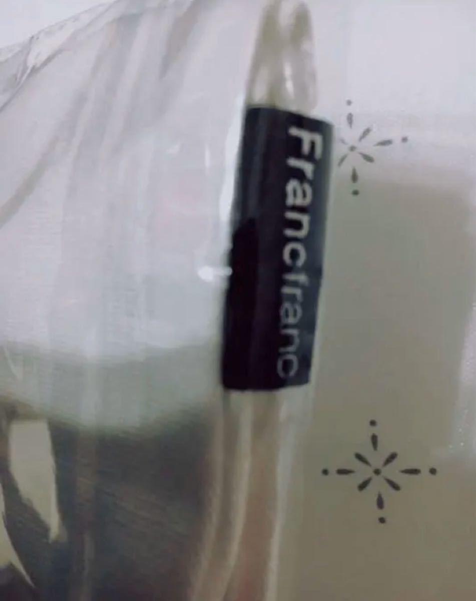 フランフラン Francfranc 非売品 トート エコ 携帯 バッグ 新品 白