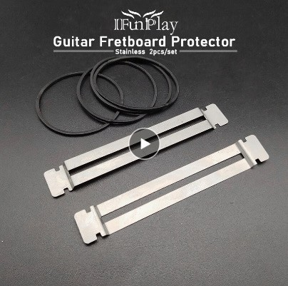 P1219 2 個 セット ギター フレット 修復 ツール ステンレス鋼 指板 プロテクター サンディング クリーニング 弦楽器 製作者 ツール_画像1