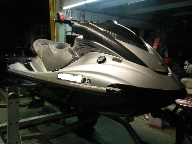 愛知から ヤマハ FXクルーザーHO 船検付きで売切り 実働 検索 YAMAHA SHO SVHO SEA-DOO カワサキ ウルトラ GTX IS トレーラーも出品中