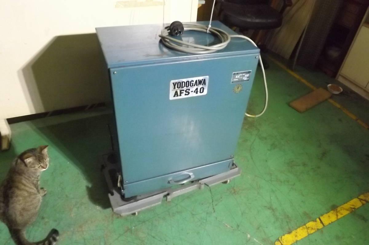 淀川電機 製作所 集塵機 グラインダー 研磨機 サンダー ベルト 研磨機 破砕機 粉砕機_画像1
