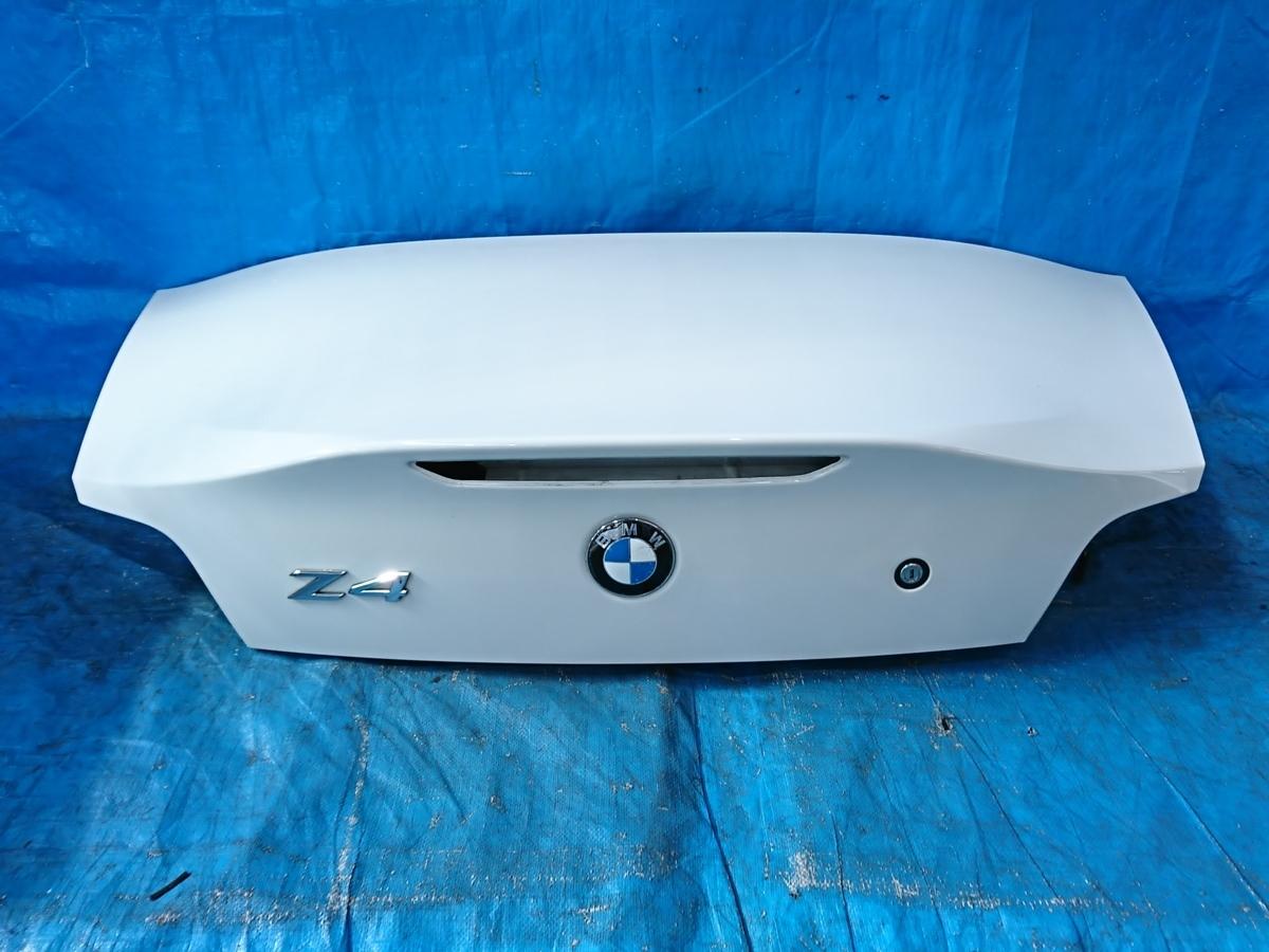 ★ トランク BMW Z4 E85 GH-BT25 2005y_画像1