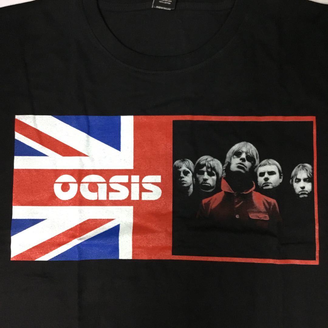 バンドデザインTシャツ XXL (2XL)(3L) オアシス oasis 両面プリント SR6D1