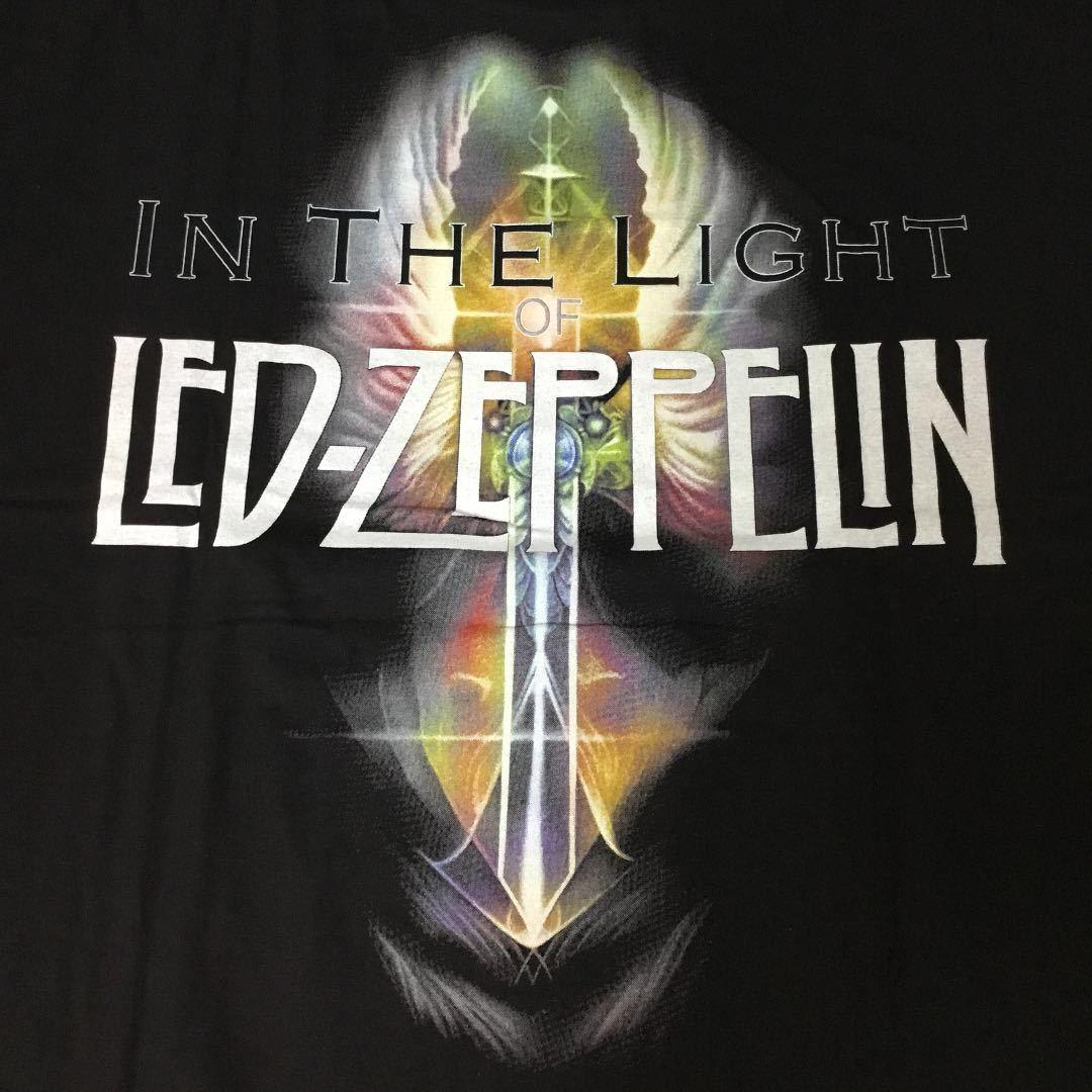 バンドデザインTシャツ XXL (2XL)(3L) レッドツェッペリン LED-ZEPPELIN SR6D2