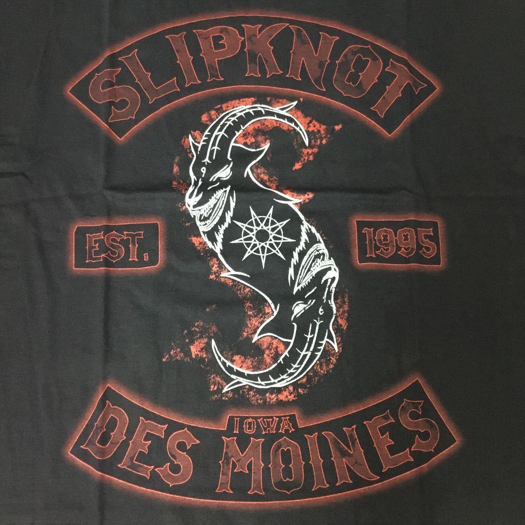 バンドデザインTシャツ XXL (2XL)(3L) スリップノット SlipknoT ④ SR6D2