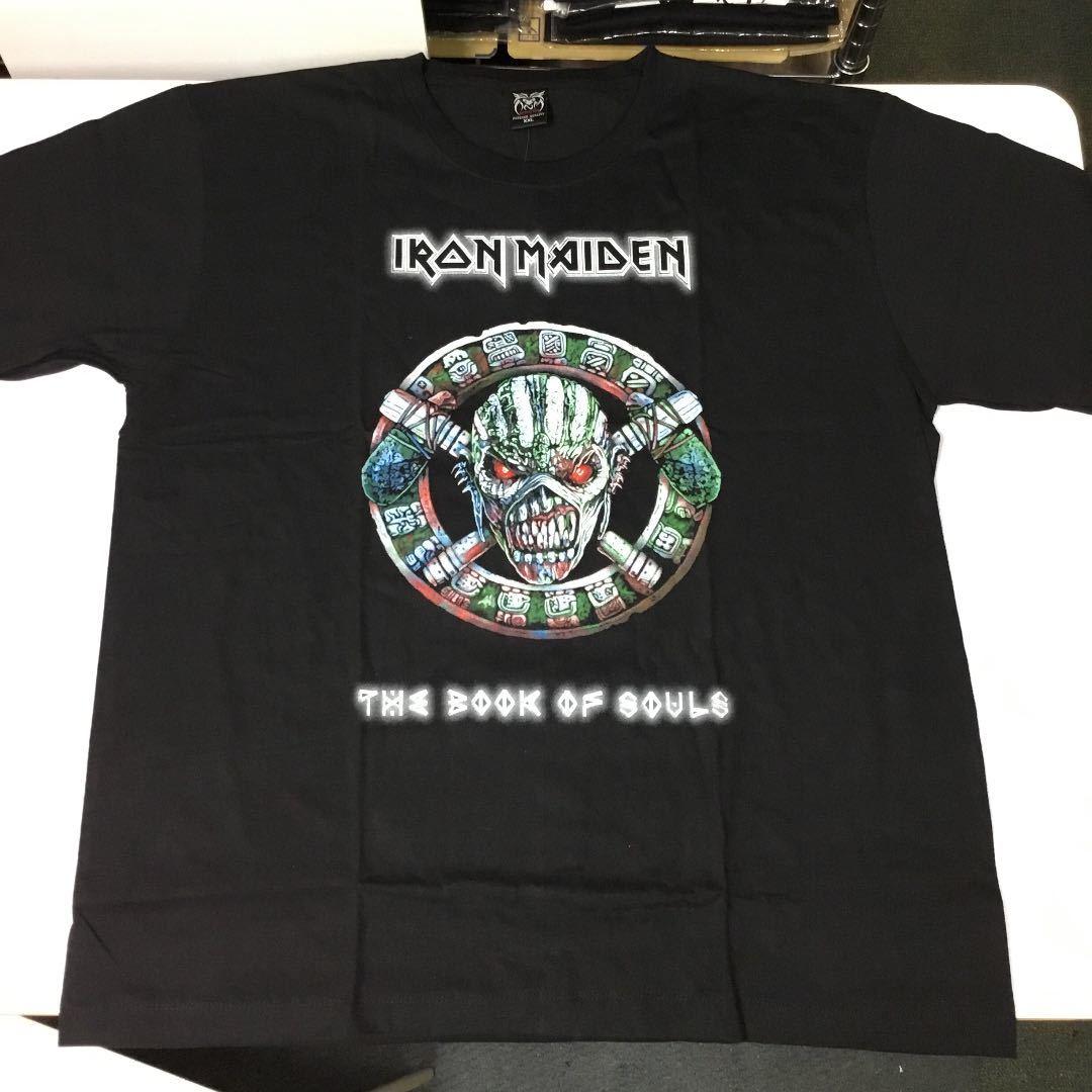 バンドデザインTシャツ XXL (2XL)(3L) アイアンメイデン IRON MAIDEN ② SR6D2