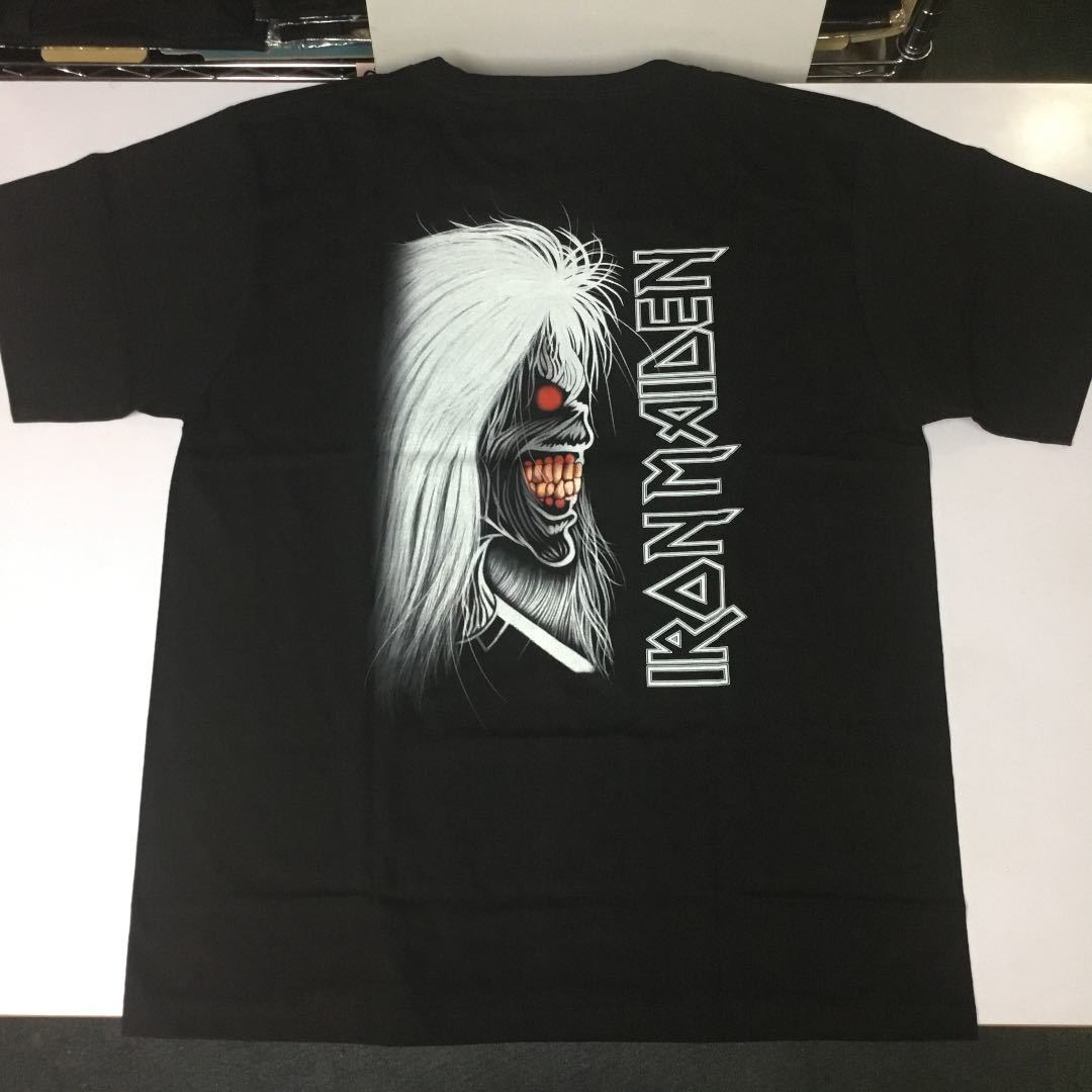 バンドデザインTシャツ XL (2L)(LL) アイアンメイデン IRON MAIDEN ① SR6C1