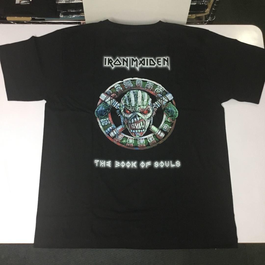 バンドデザインTシャツ XL (2L)(LL) アイアンメイデン IRON MAIDEN ② SR6C1