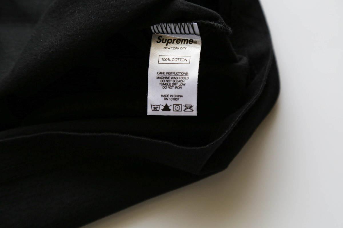正規購入 Supreme CITY ARC TEE BLACK SIZE:L 未使用_画像4