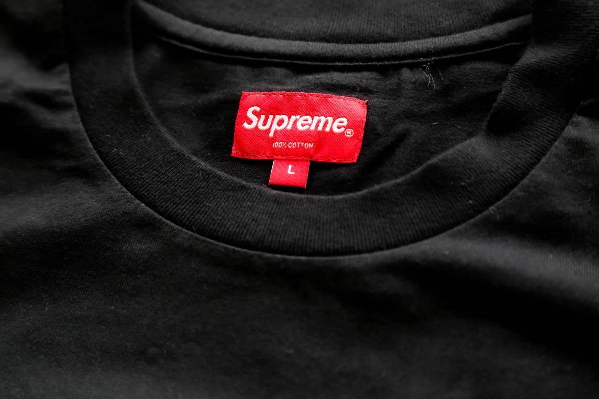正規購入 Supreme CITY ARC TEE BLACK SIZE:L 未使用_画像3