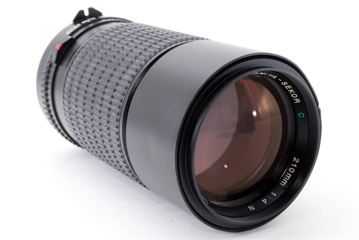 美品 マミヤ セコール MAMIYA SEKOR C 210mm F/4 N 645 6x4.5 中判用フィルムカメラ レンズ M645 1000S #623973_画像3