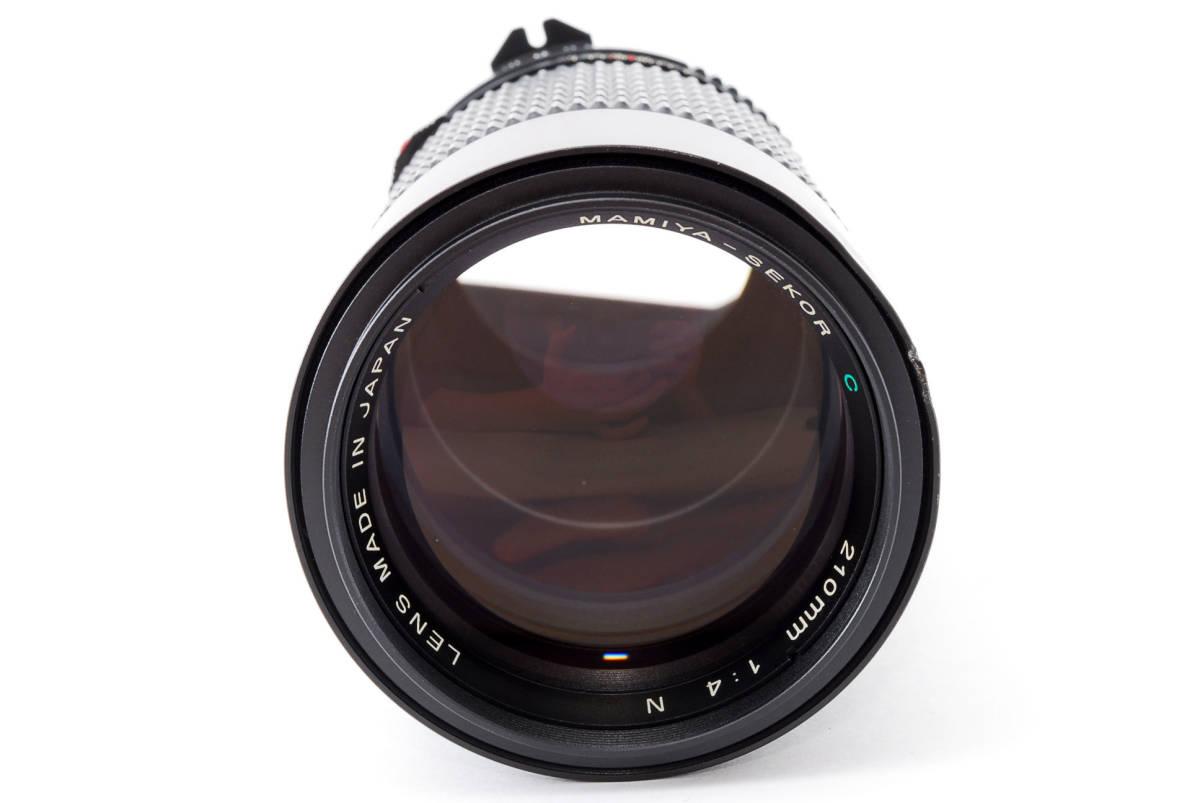 美品 マミヤ セコール MAMIYA SEKOR C 210mm F/4 N 645 6x4.5 中判用フィルムカメラ レンズ M645 1000S #623973_画像2
