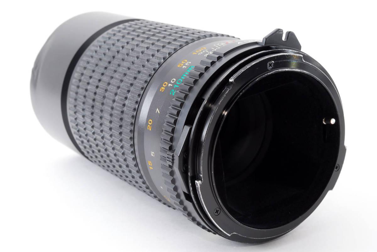 美品 マミヤ セコール MAMIYA SEKOR C 210mm F/4 N 645 6x4.5 中判用フィルムカメラ レンズ M645 1000S #623973_画像6