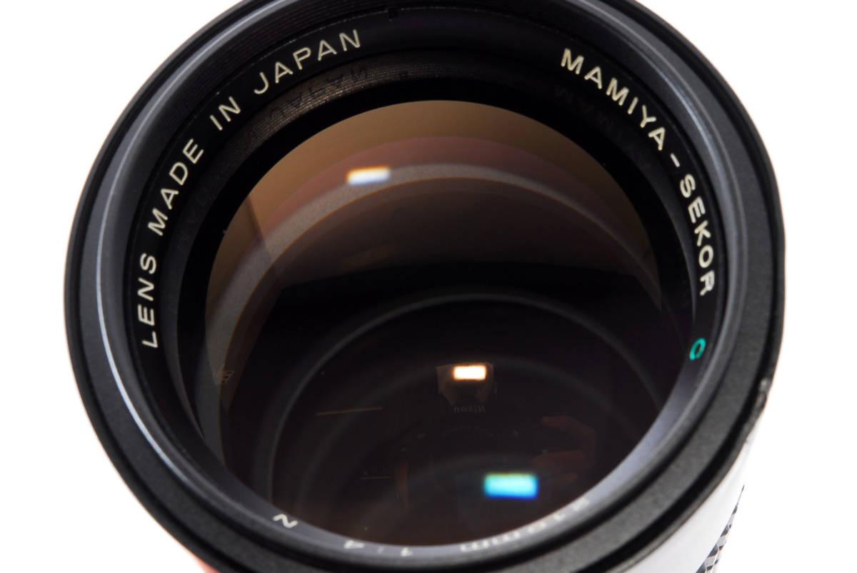 美品 マミヤ セコール MAMIYA SEKOR C 210mm F/4 N 645 6x4.5 中判用フィルムカメラ レンズ M645 1000S #623973_画像10