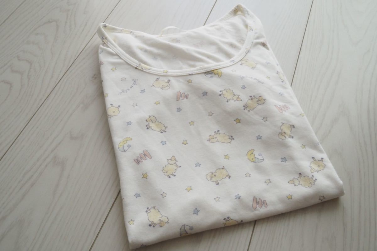 ジェラートピケ ルームウェア ワンピース Tシャツ