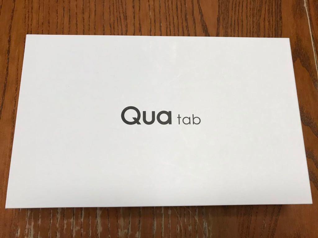 【新品未使用】Quatab 02 HWT31 チャコールブラック SIMフリー SIMロック解除 au aa023_画像3