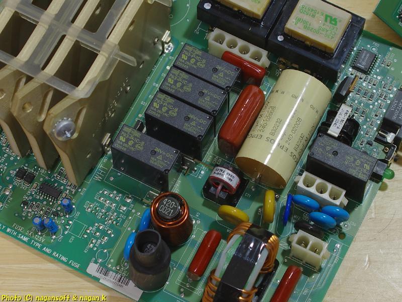 APC Smart-UPS 1000 から外した、フロントパネルと基盤_画像7