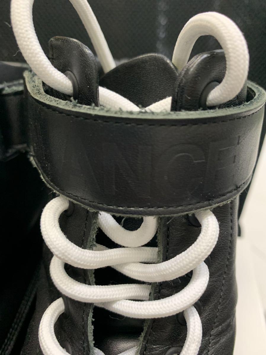 UNDER COVER アンダーカバー scab ブーツXL 26.5~28cm位 ブラック JONIO 1000円スタート 最落なし_画像5