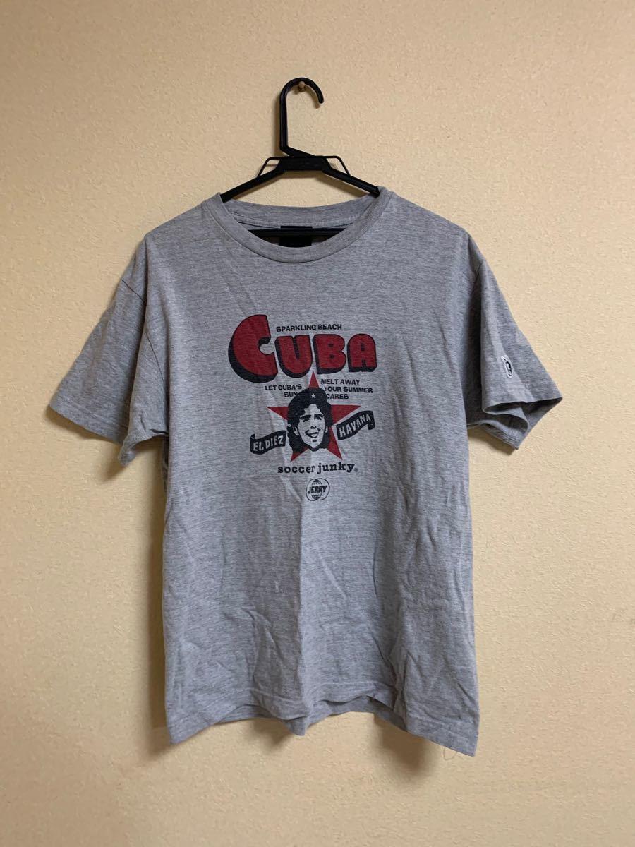 サッカージャンキー   半袖Tシャツ