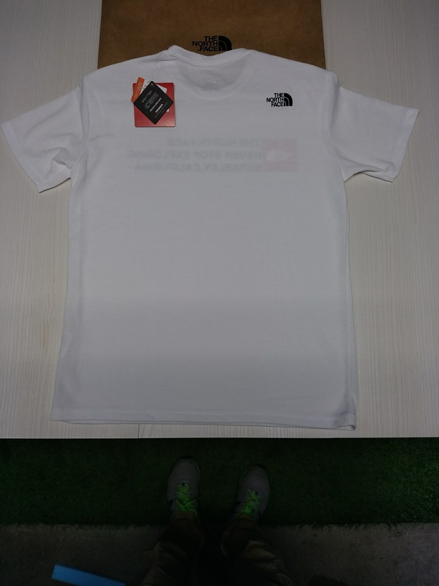 THE NORTH FACE SQUARE LOGO TEE S