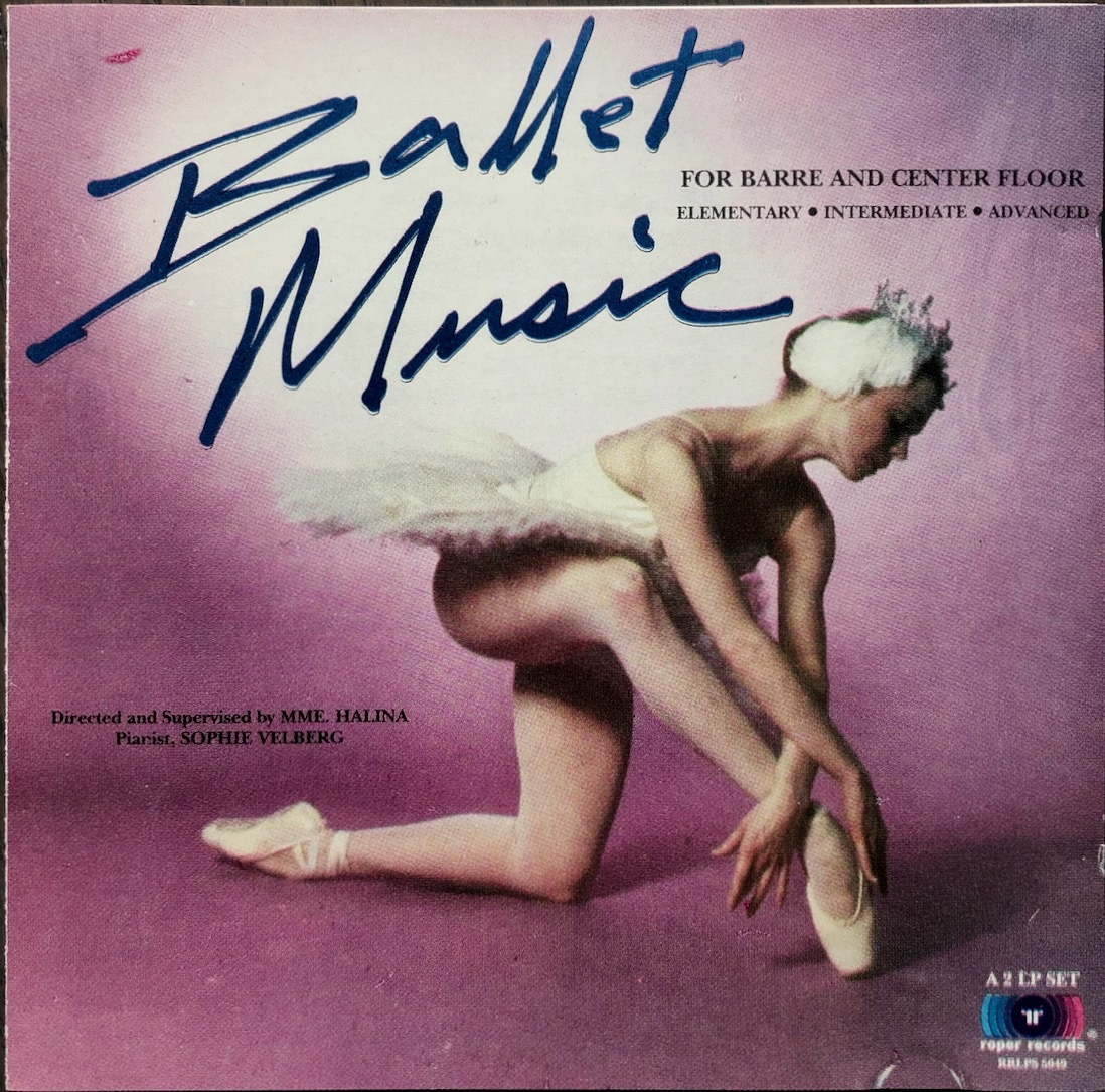(Z2H)☆バレエ音楽レア盤/Ballet Music For Barre And Center Floor Elementary-Intermediate-Advanced/MME Halina☆_画像1